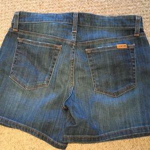 Joe's denim shorts.  Never worn.